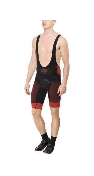 X-Bionic Effektor Biking Power Miehet lyhyet pyöräilyhousut , punainen/musta